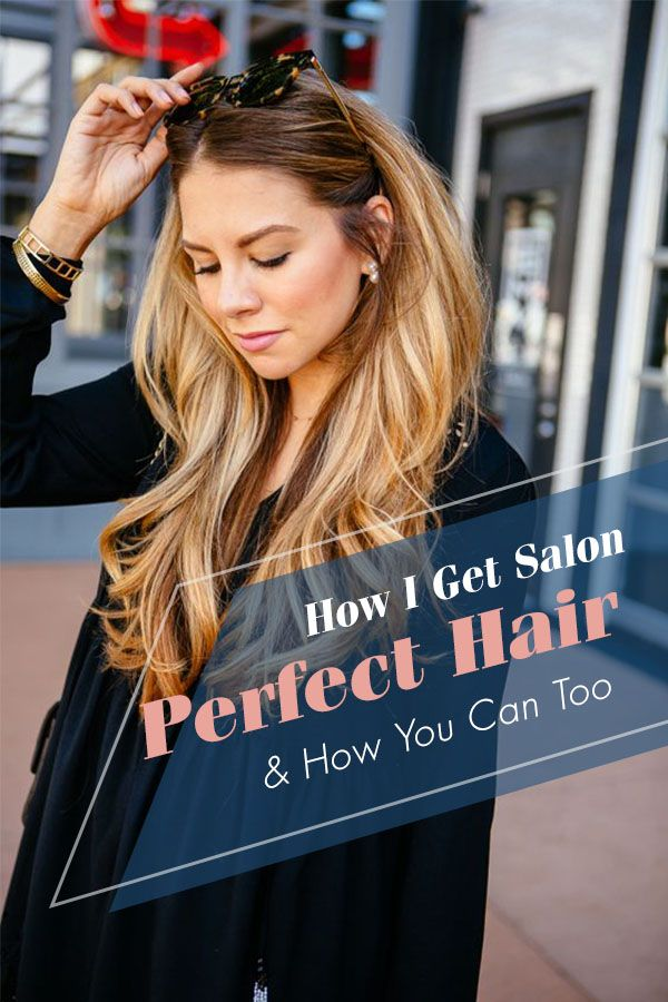 How To Get Long Healthy Salon Style Hair Every Day Hair Inspiration Long Medium Hair Styles For Women Blonde Hair At Home