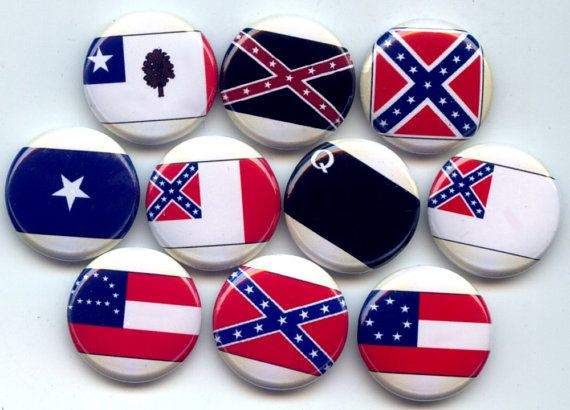 Confederate Flags Us American Revolution Civil War By Yesware11