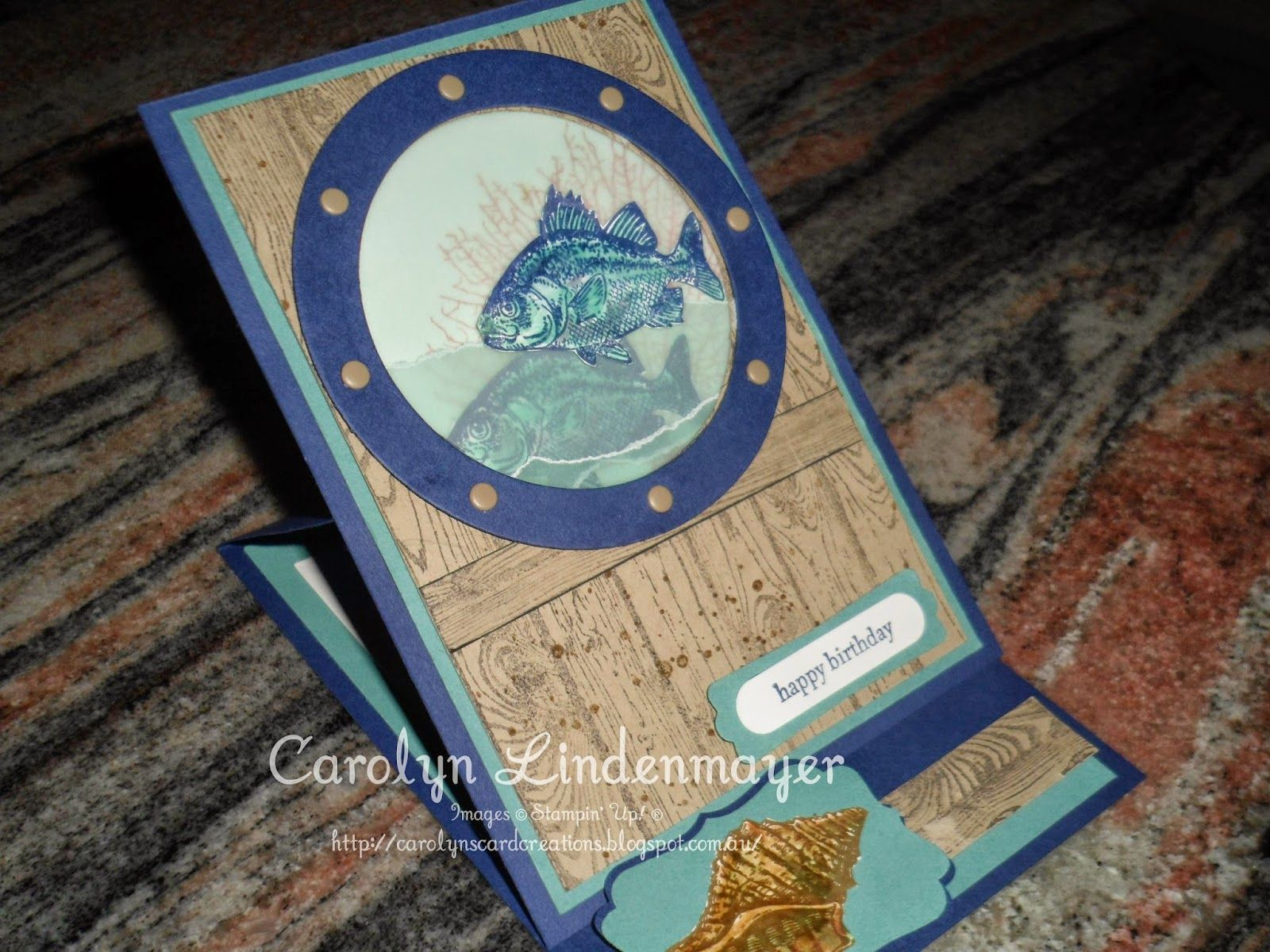 Carolyn's Card Creations: Can You Case It? #59 - By the Tide