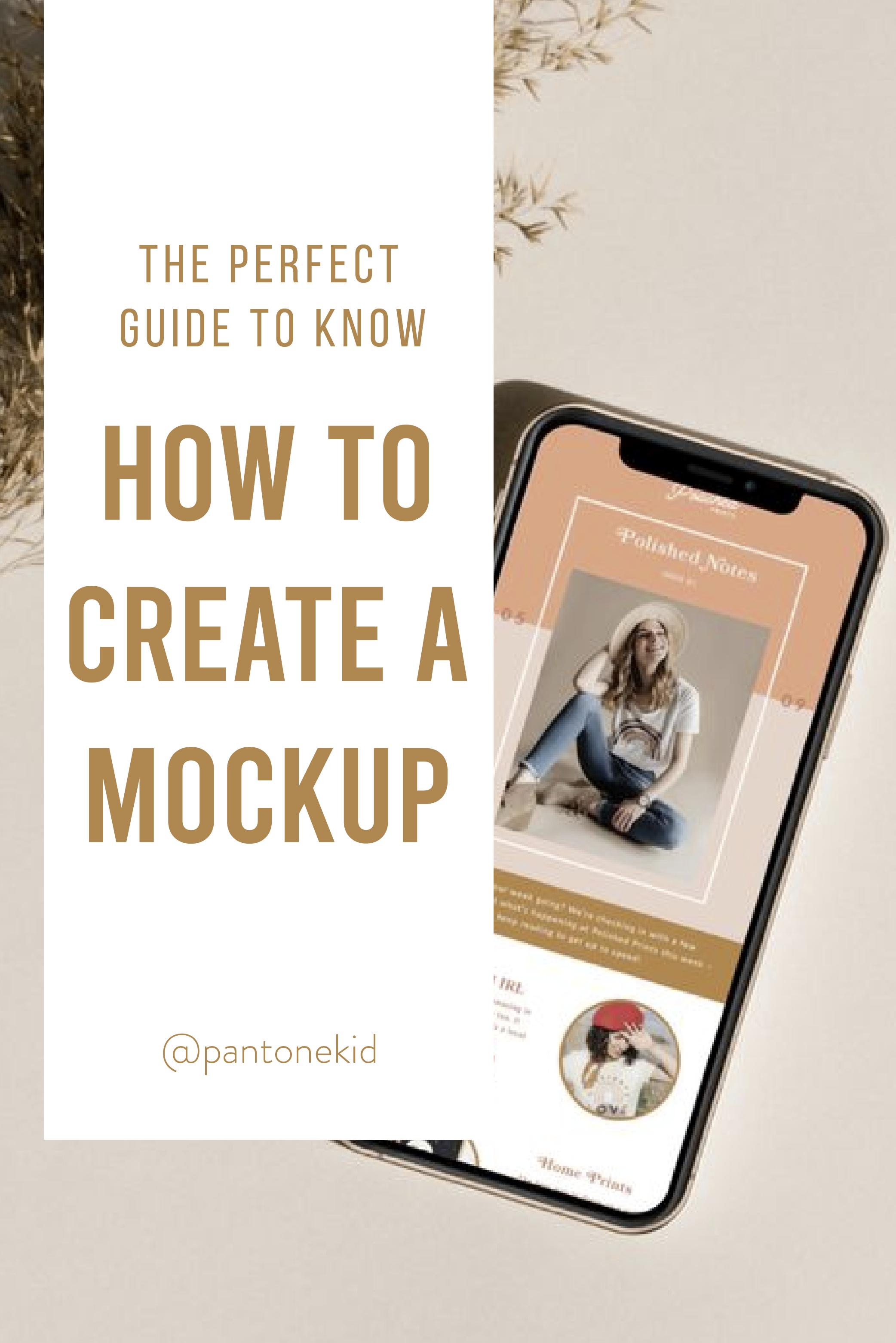 Create Your Own Mockup Whit Illustrator En 2020