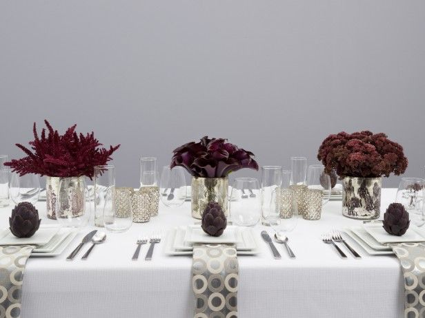 modern thanksgiving table setting for thanksgiving cookingchanneltv.com