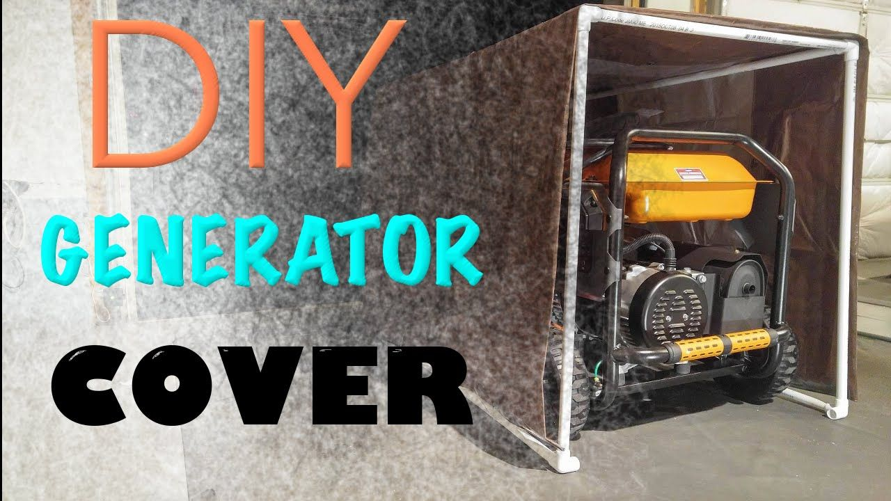 Easy diy portable generator tent cover diy tent diy
