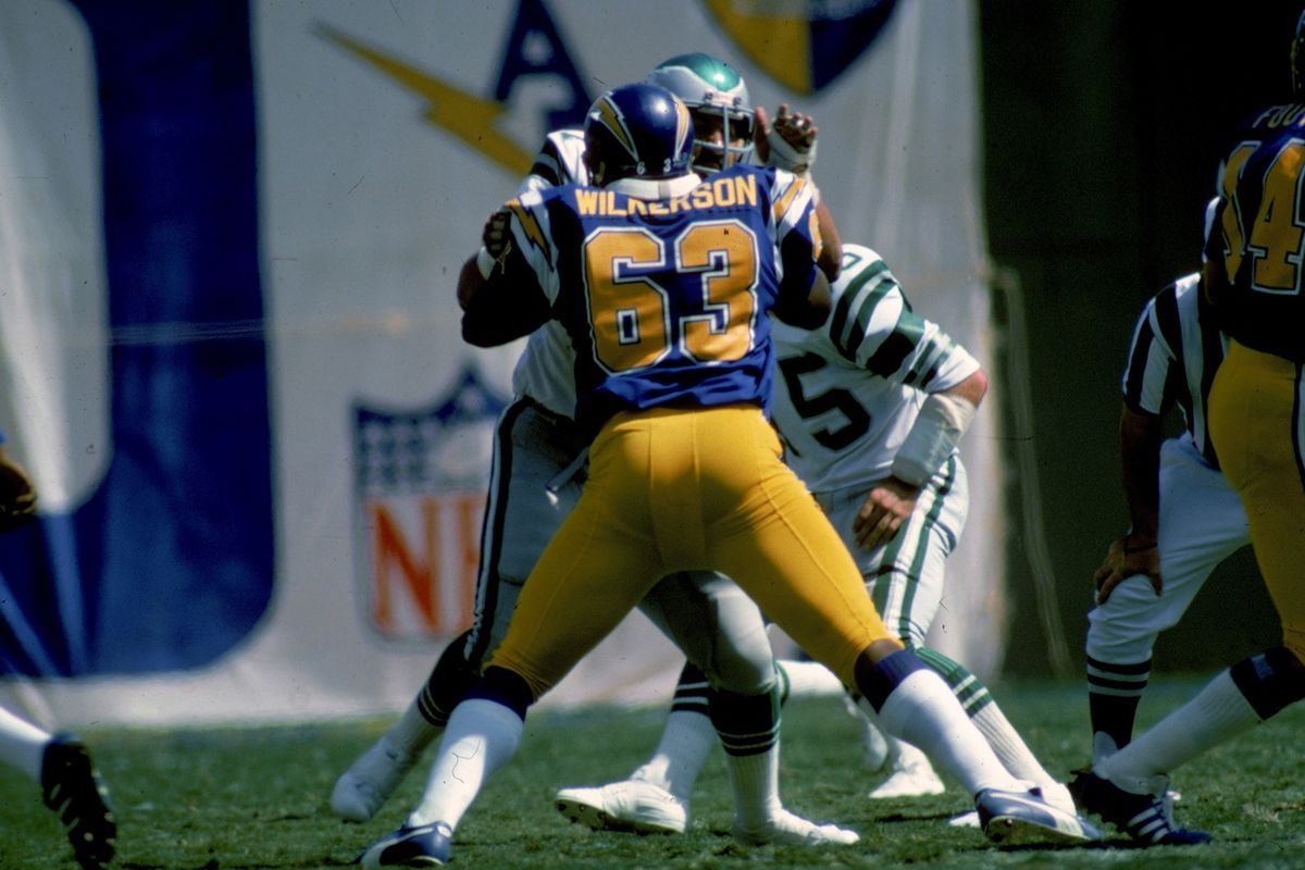 63, Doug Wilkerson San diego chargers, Charger, San diego