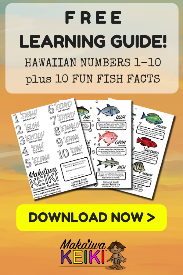 """Learn the Hawaiian Numbers 110 in """"Ōlelo Hawaiʻi with our"""
