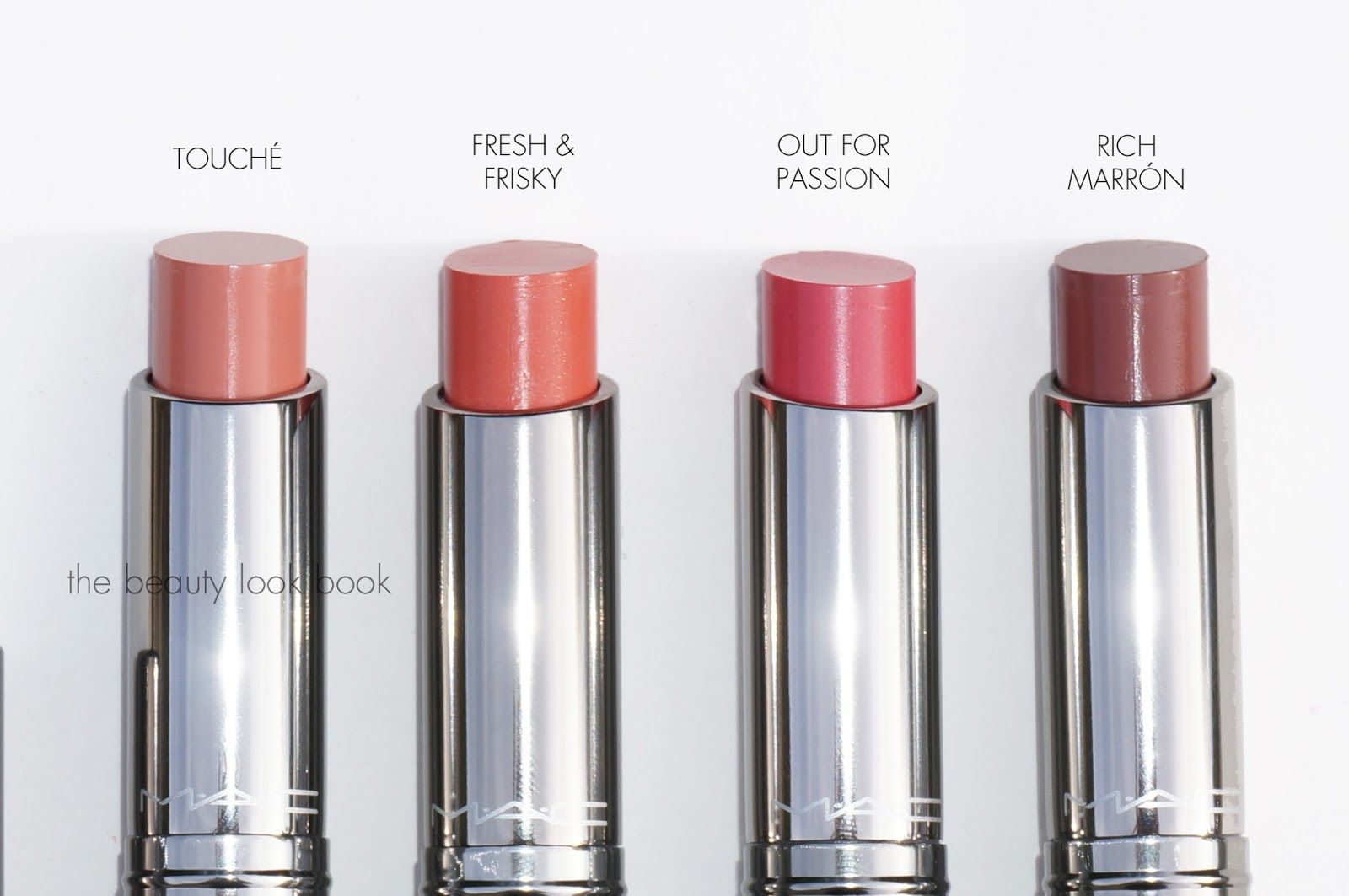 MAC Huggable Lip Colour: Touché, Fresh