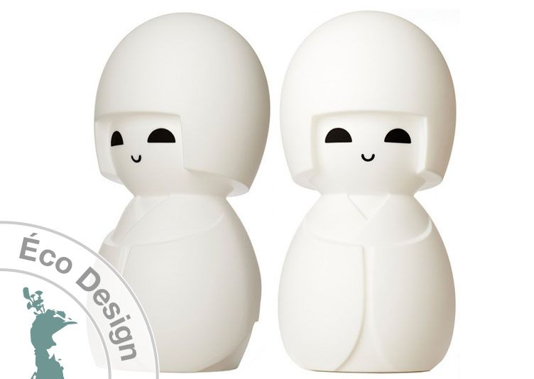 Lampe Kokeshi de Mr Maria- Livraison offerte - Lampe porte bonheur