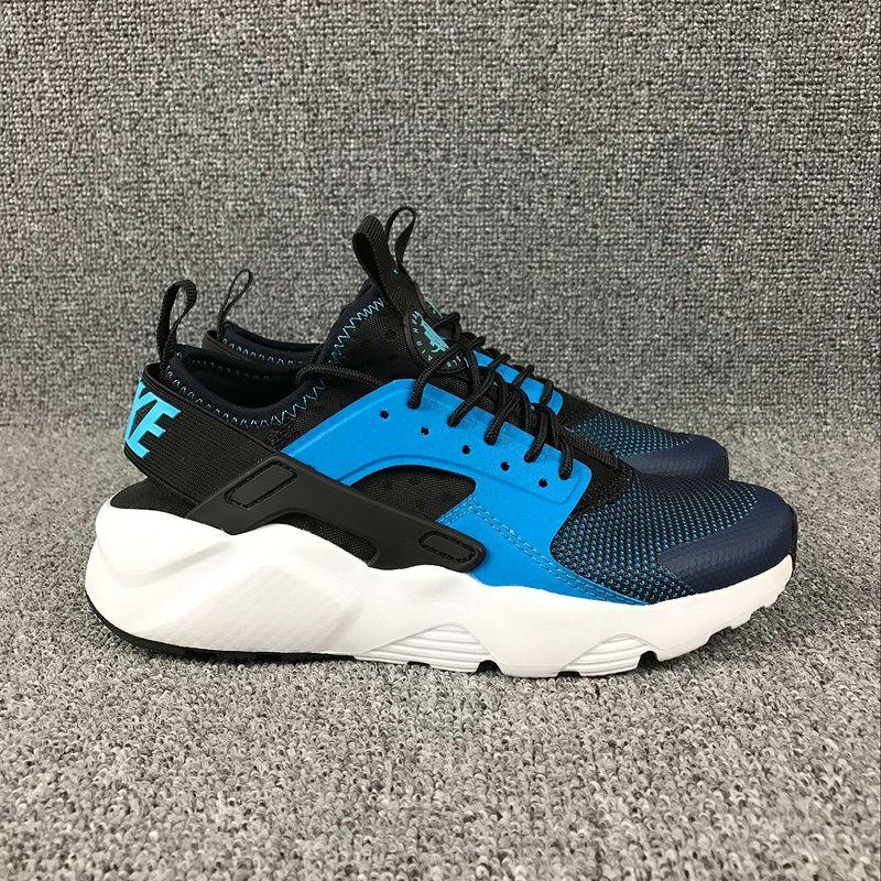 the latest 94f5f 51e98 Populaire Uk New Nike Air Huarache Run EUR 36-45 Azure Celeste Black Noir  819685-100 Youth Big Boys Shoes