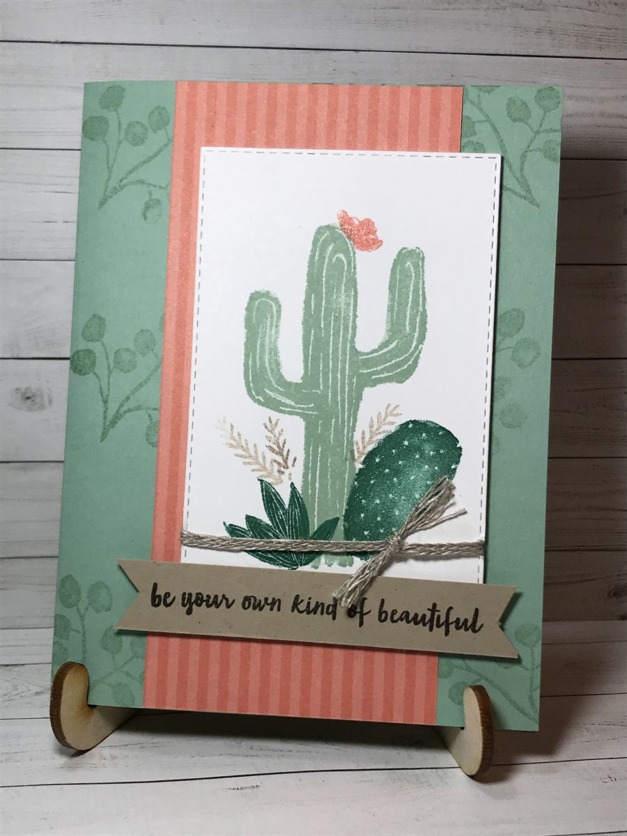 Flowering Desert is such a beautiful set! Cactus stamp