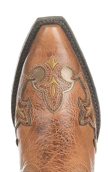 5e2765264b5 Ariat Women's Zealous Brown with Red Inlay Western Snip Toe Boots ...