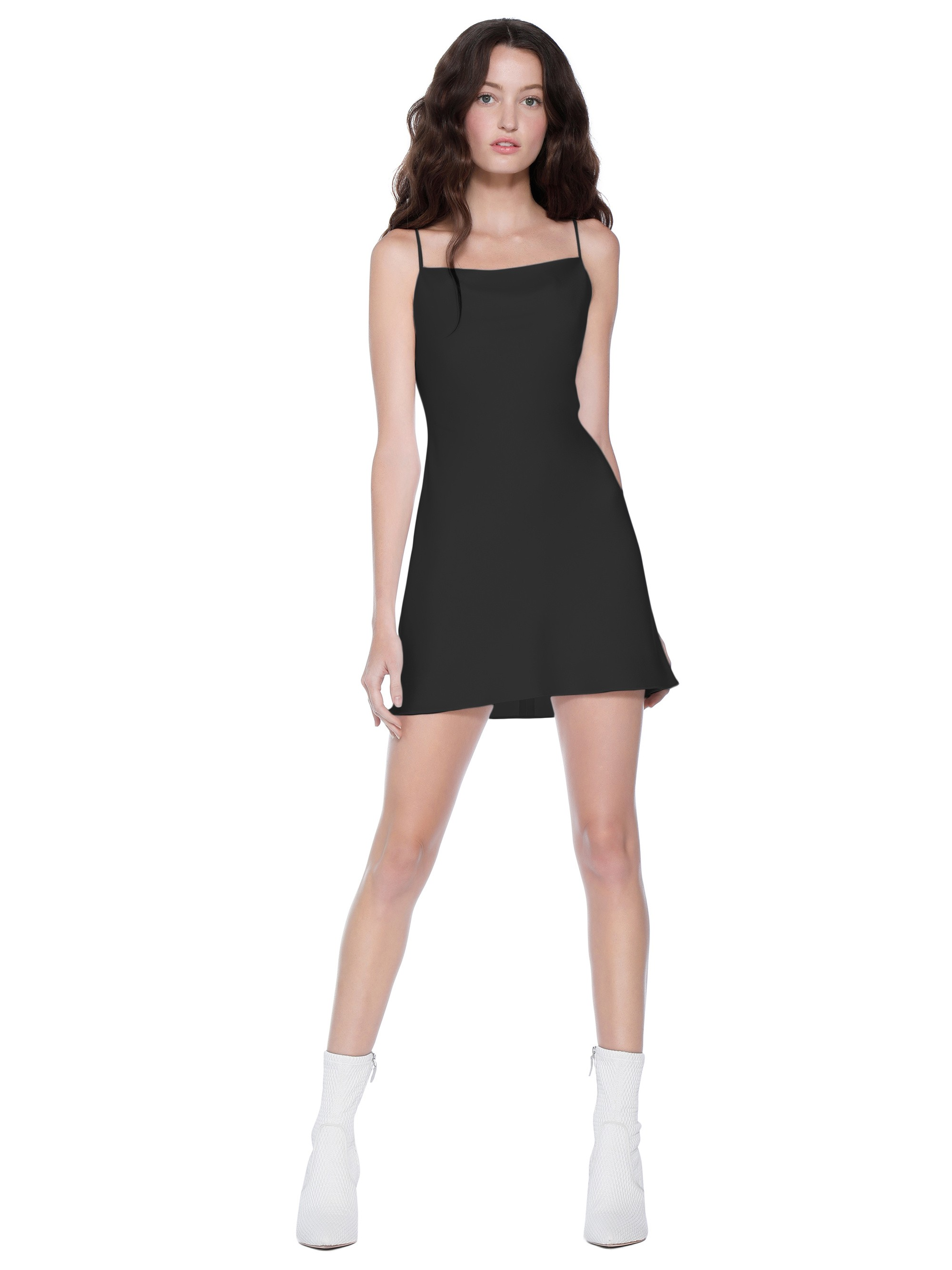 20a6de1e99 Alice + Olivia Harmony Mini Cocktail Dress - Black 2