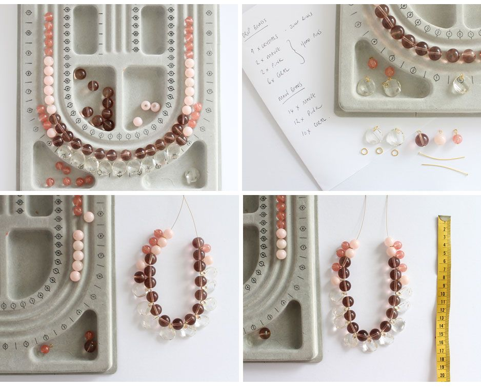 DIY : Crystal Statement Necklace // This is just such a fabulous ...