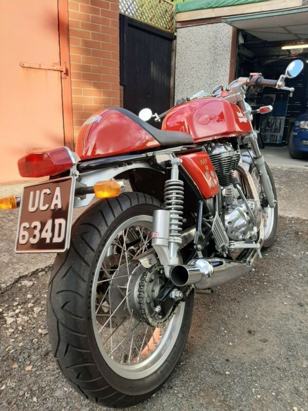 Royal Enfield Continental 535 GT Royal enfield, Private