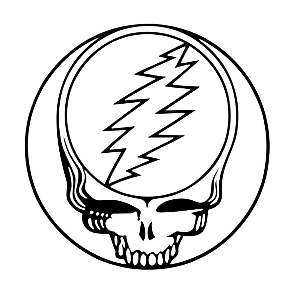Grateful Dead Steal Your Face Grateful Dead Sticker Grateful Dead Grateful Dead Tattoo