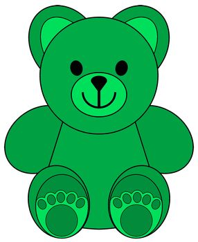 Clip Art Little Colored Bears Clip Art 4 Teachers Bear Theme