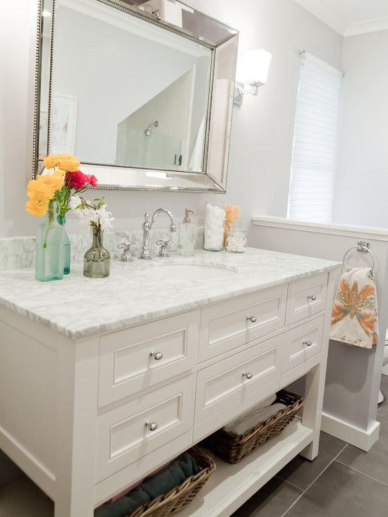 Pottery Barn Vanity Design Ideas Pictures Remodel And Decor Pottery Barn Vanity Bathrooms Remodel Bathroom Decor