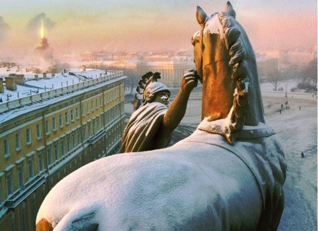 Saint Petersburg by Aleksandr Petrosyan