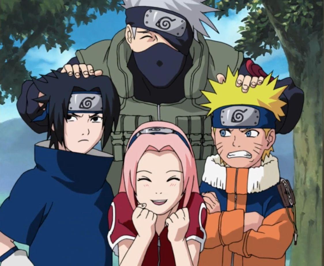 Oldie but Goldie // squad 7   Naruto sasuke sakura, Naruto teams, Naruto  shippuden anime