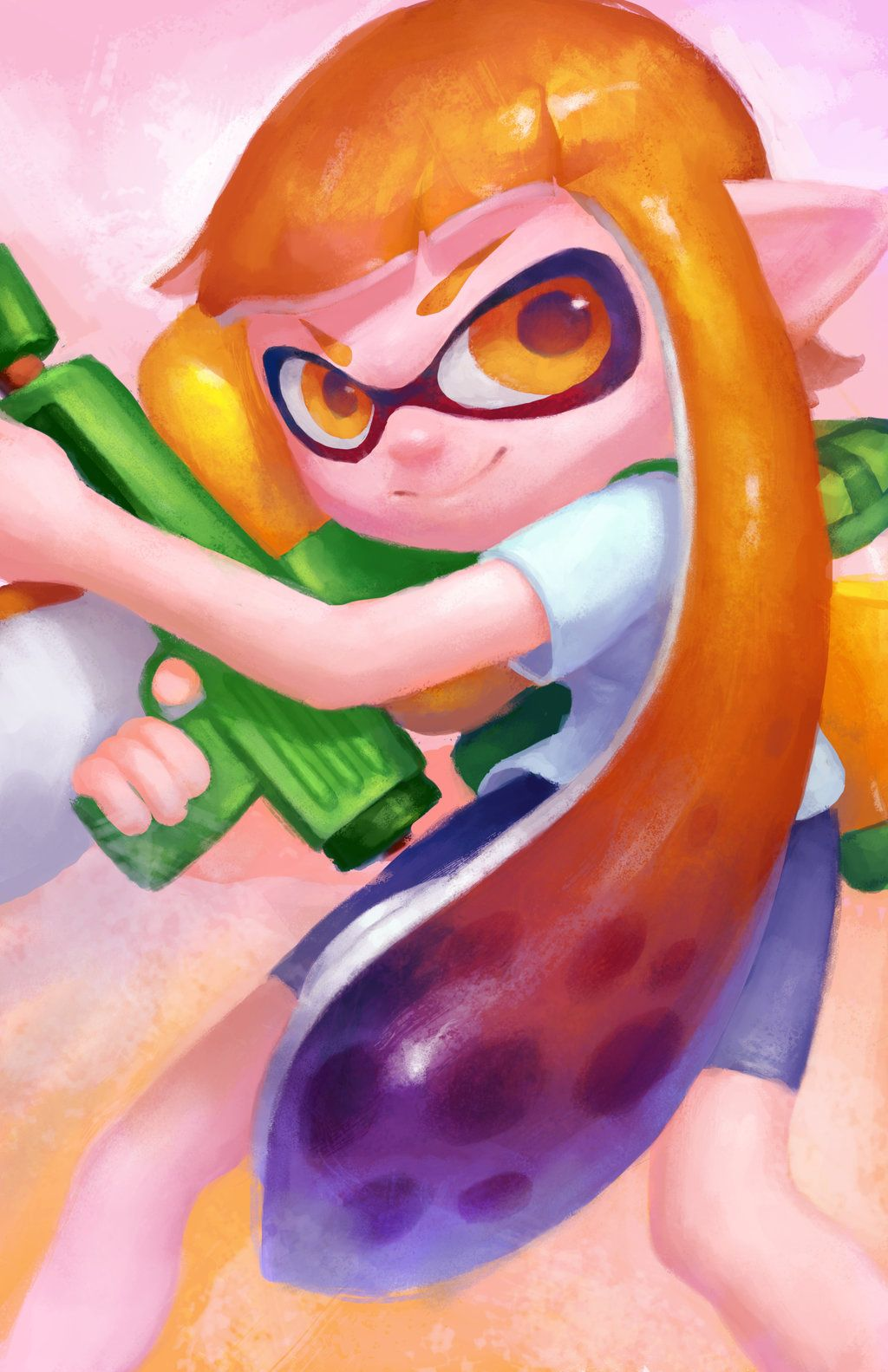 The Girl Inkling by Tvonn9.deviantart.com on @DeviantArt