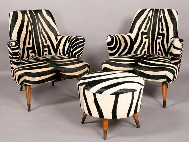 zebra print upholstery fabric tub chair design | African décor in love♥♥★ but please use Fake Zebra Fabric ...