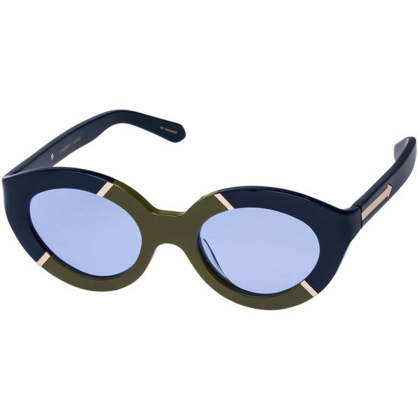 8c9368d96b1f Karen Walker sunglasses ($258) ❤ liked on Polyvore featuring accessories,  eyewear, sunglasses