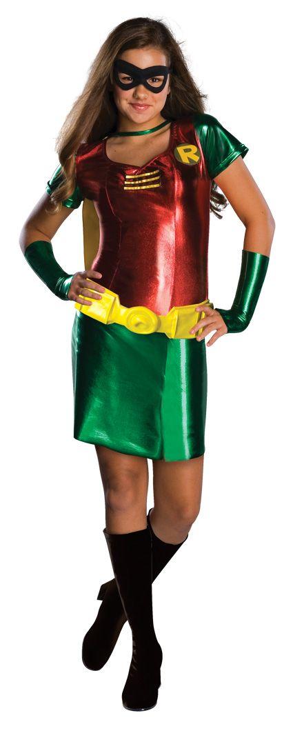 Teen Titans Robin Girls Costume costume ideas Pinterest Robin - halloween teen costume ideas