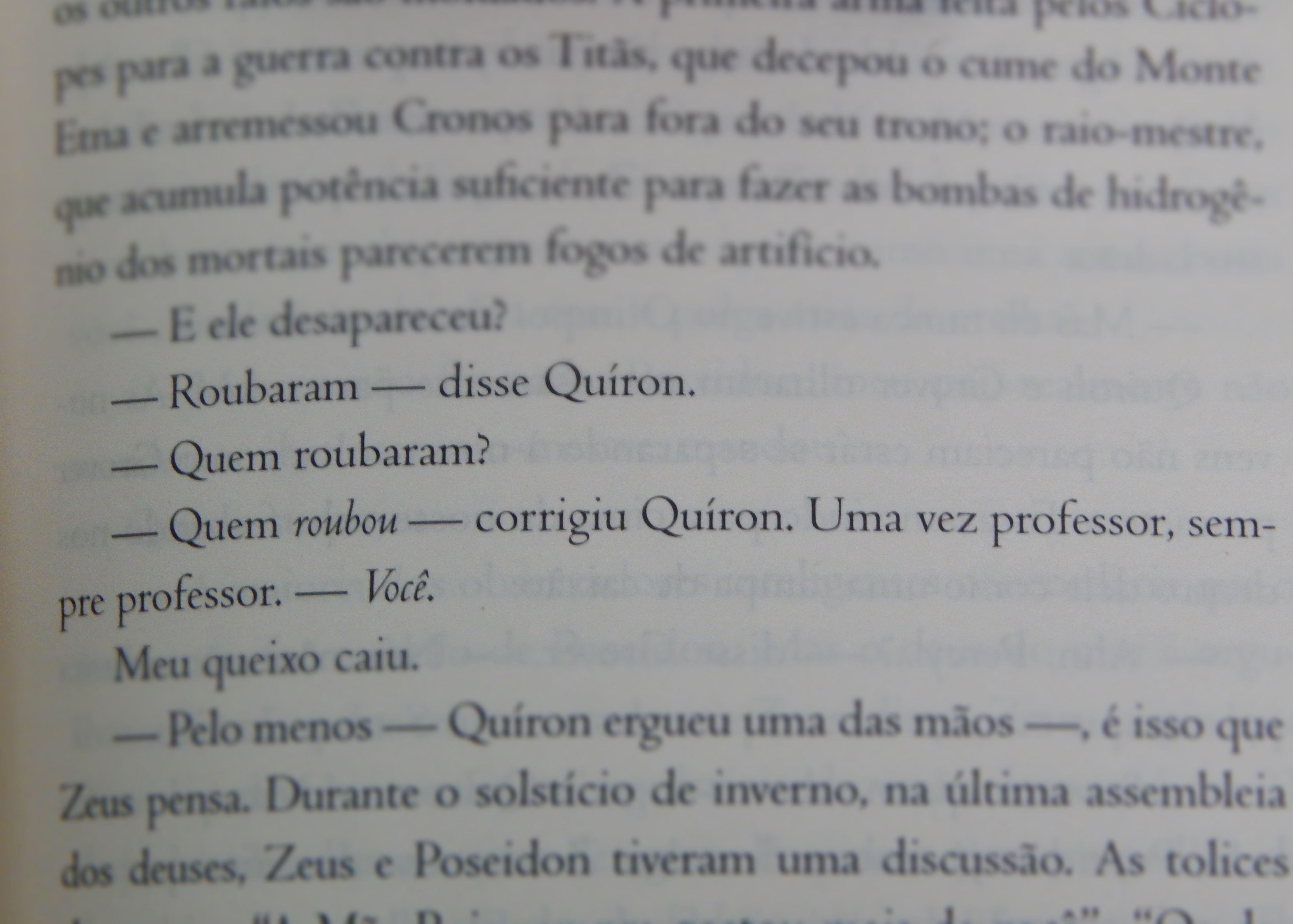#PercyJackson #Quíron #LadrãoDeRaios