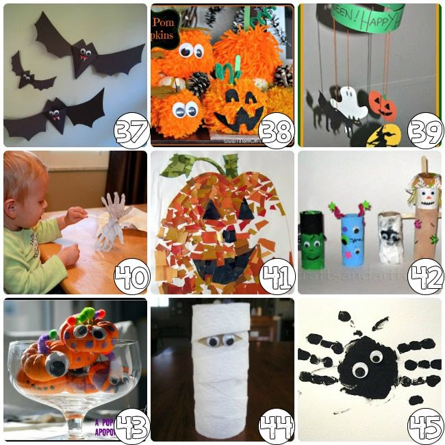 75 Halloween Craft Ideas For Kids Crafts Halloween