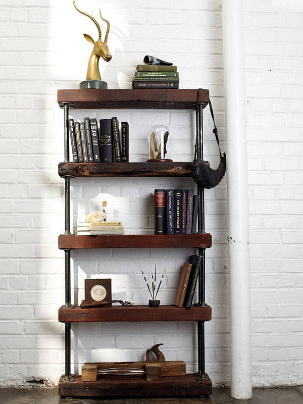 Diy Bookshelves. For When I Have A Sincere Joy Of Reading Again. Someday.