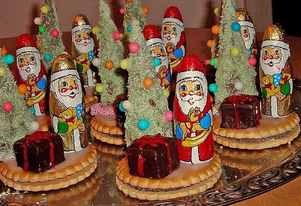 Weihnachtsbäumchen zum Essen von Xapor   Chefkoch #nikolausbacken