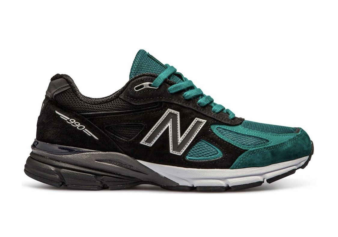 finest selection 6dcd5 4658b YCMC Black/Teal M990JB4 | 990v4 | New balance, Sneakers, Shoes