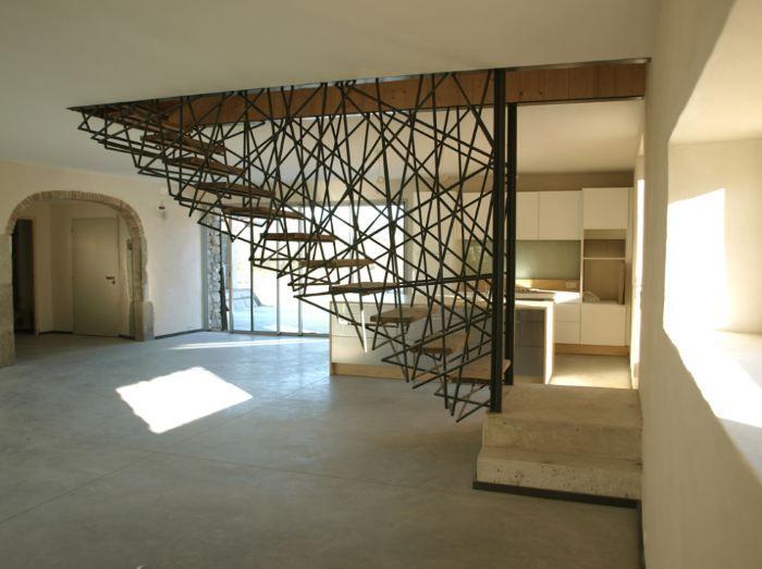 15 moderne treppen zum staunen stiegen treppen modern stiegen und. Black Bedroom Furniture Sets. Home Design Ideas