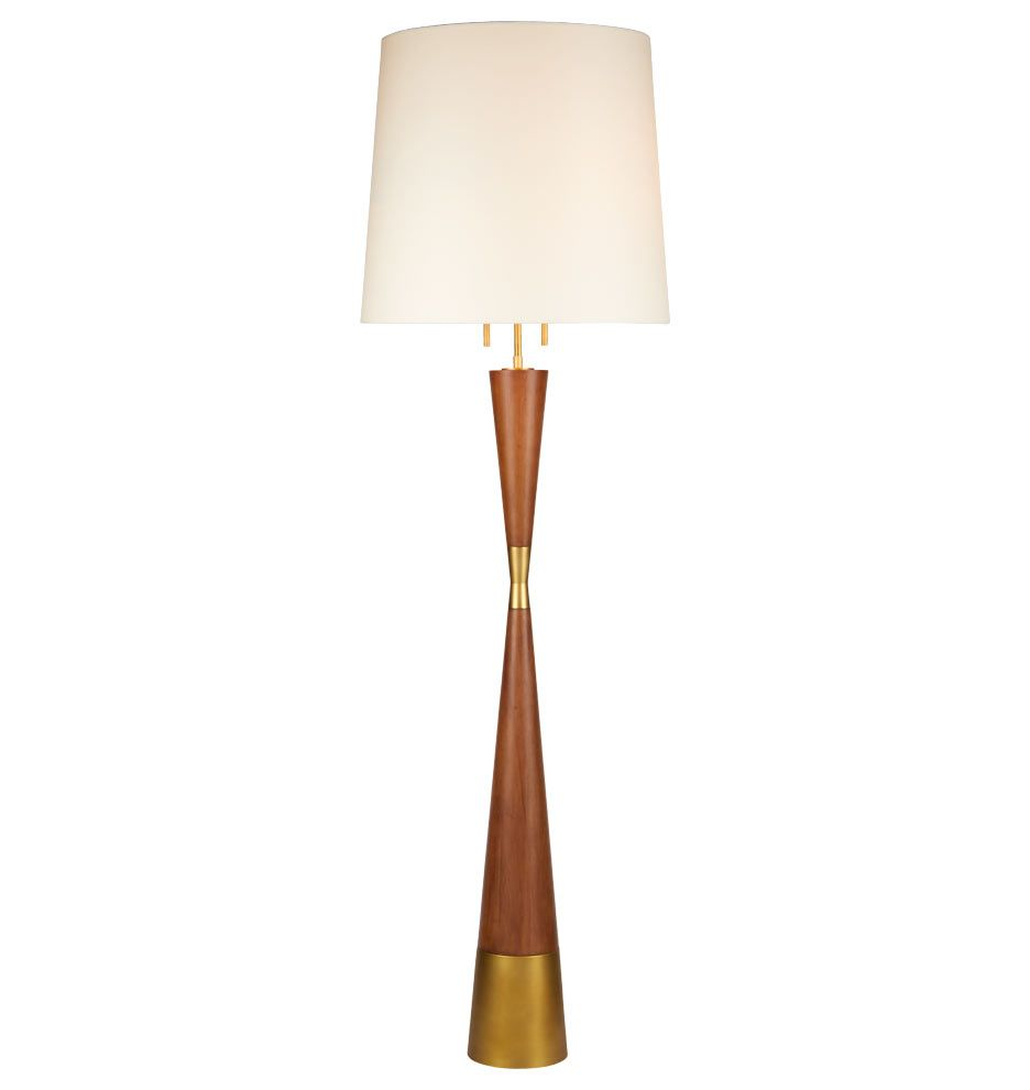 Mid Century Wooden Floor Lamp Rejuvenation In 2019