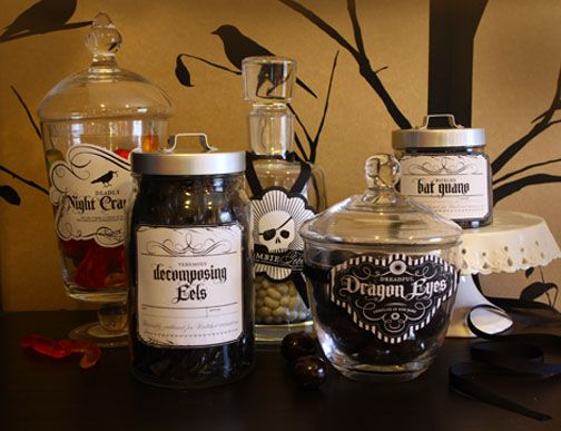 15 Cool Halloween Decorations Halloween labels, Creepy halloween - halloween party ideas for adults decorations