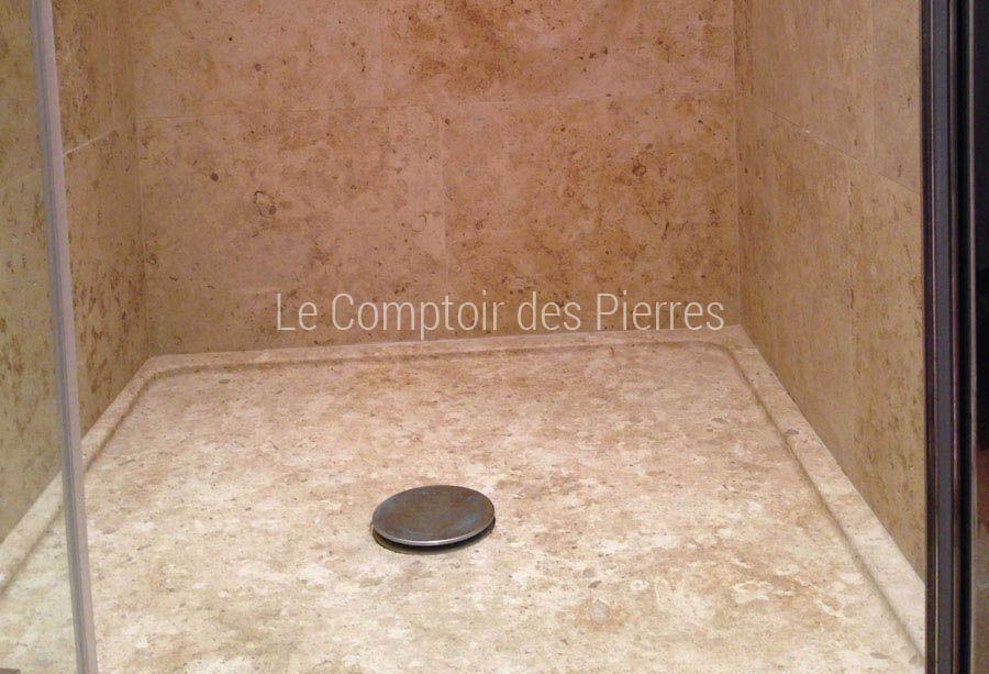 Receveur de douche en pierre de Bourgogne | salles de bains ...