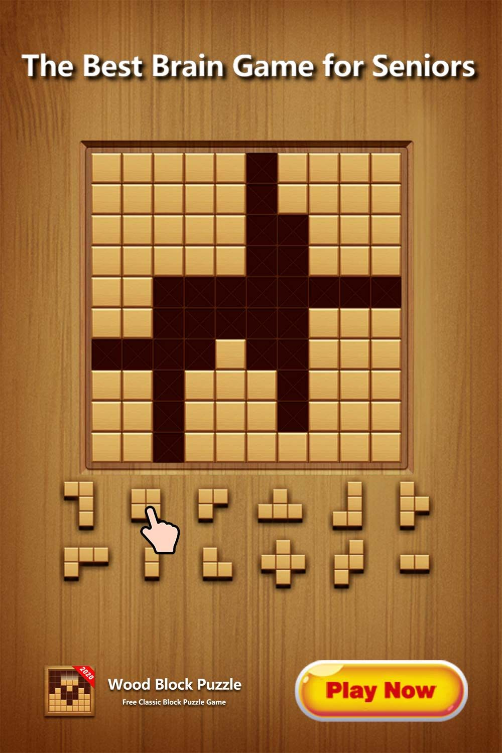 Pin on block puzzle
