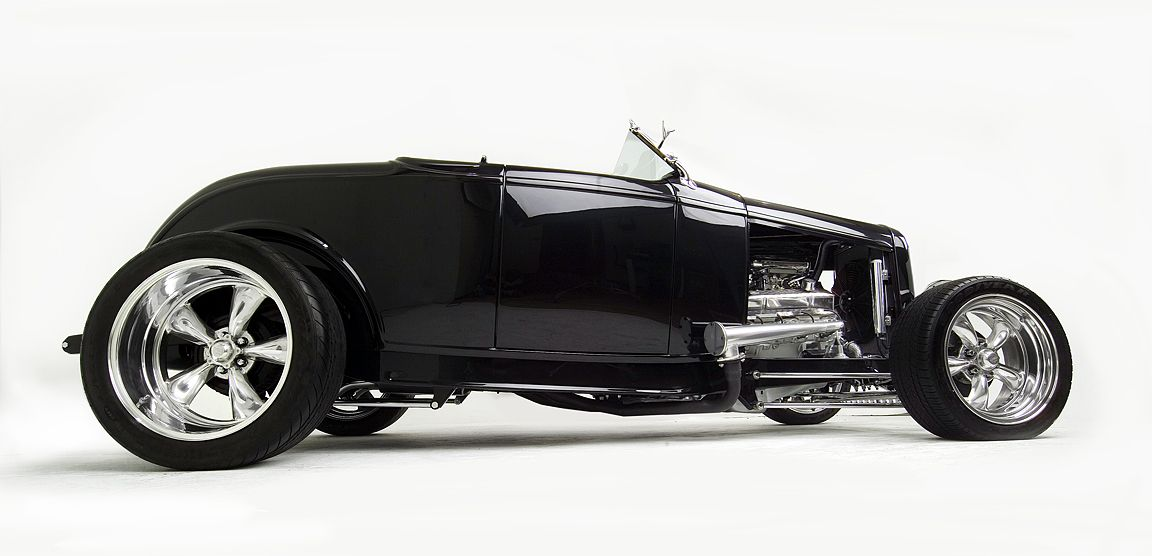 '32 Ford Roadster in high gloss black. My dream hot rod