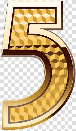 5 Letter Illustration Number Numerical Digit Gold Number Five Transparent Background Png Clipart Clip Art Transparent Background Transparent