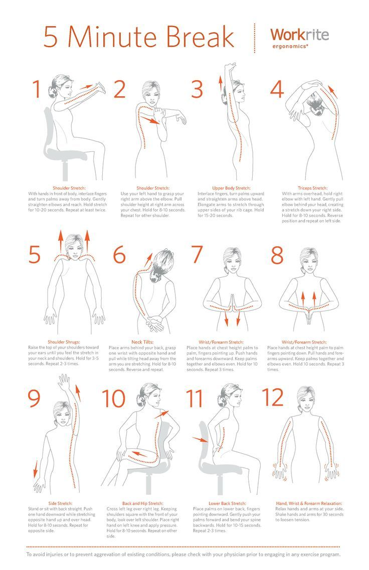 exercise at your desk pdf