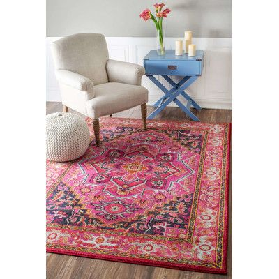 Sashi Pink Area Rug & Reviews | AllModern | Home Decor | Pinterest ...