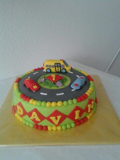 taart liedje liedje de wielen van de bus taart, auto, bus | Food   kids  taart liedje