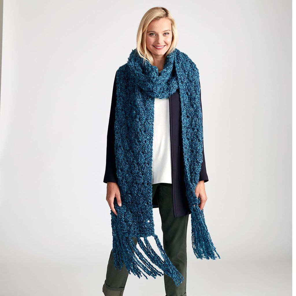 Loops & Threads® Country Loom™ Easy Breezy Knit Super Scarf ...