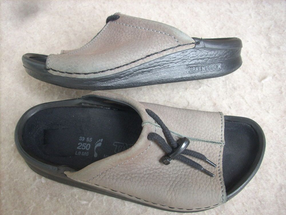 1aaff9ce6bb Birkenstock Tatami women sandals 8 Grey Pebbled leather Germany  Birkenstock   PlatformsWedges  Casual