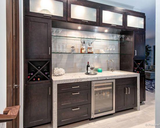Modern Home Bar Design Ideas Remodels Photos Kitchen Modern