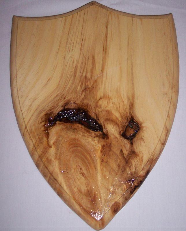 Deer Head Silhouette On Wood Rustic
