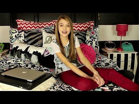 Kaelynu0027s New Room Tour 2014 So Want Like Everything In This Room She Is So  Cool