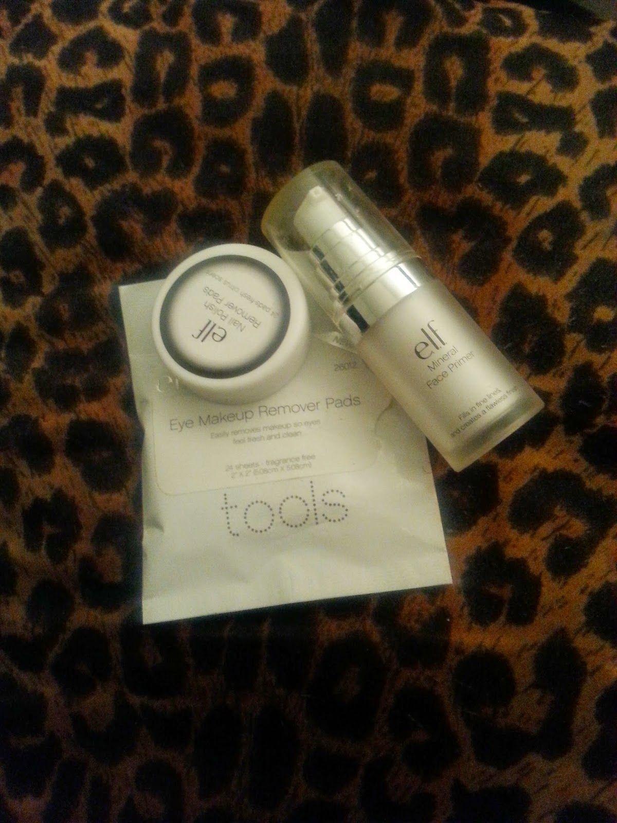 Mini E.L.F. makeup haul and review Makeup remover pads