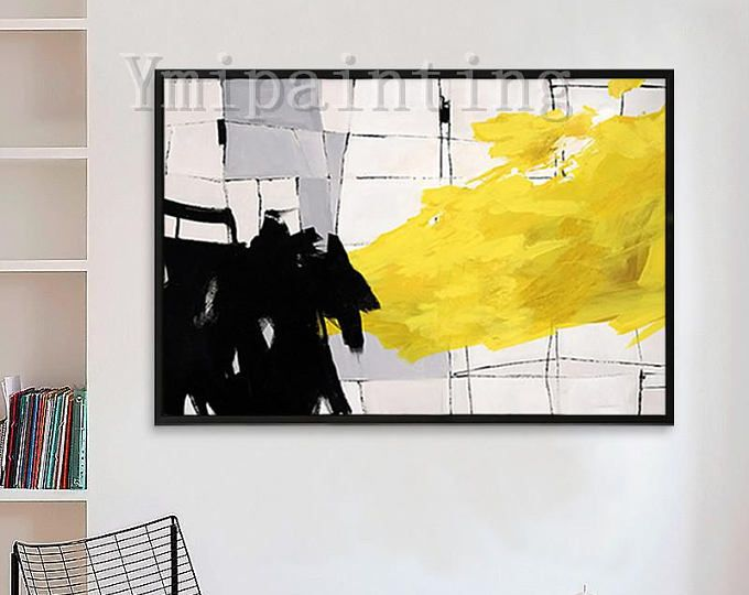 Hand Painted Original acrylic painting,Modern Abstract,huge size ...