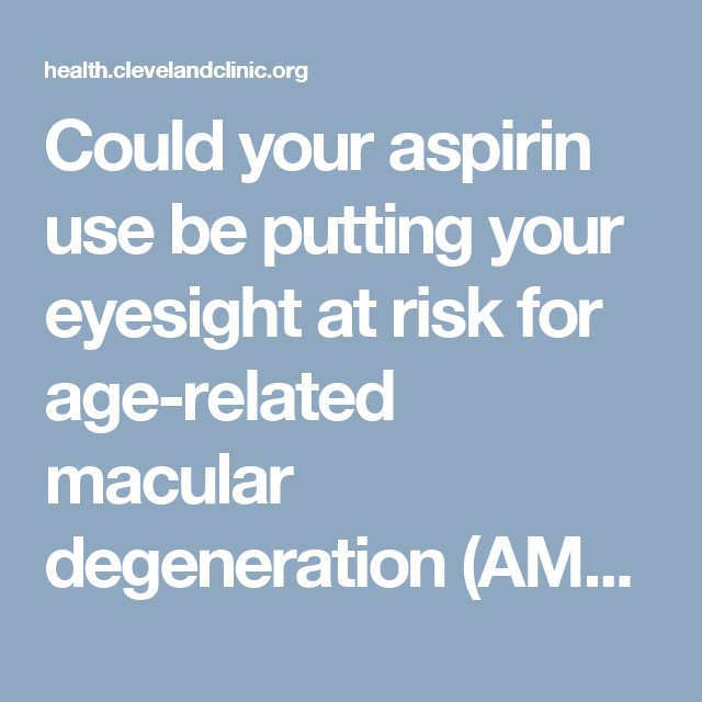 Could your aspirin use be putting your eyesight at risk for age-related macular degeneration (AMD)? Learn about the health benefits and potential risks of regular aspirin use.