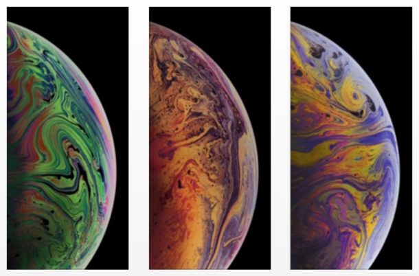 Download The 3 Iphone Xs Max Wallpapers Of Bubbles Osxdaily Iphone Wallpaper Hd Wallpaper Iphone Live Wallpaper Iphone