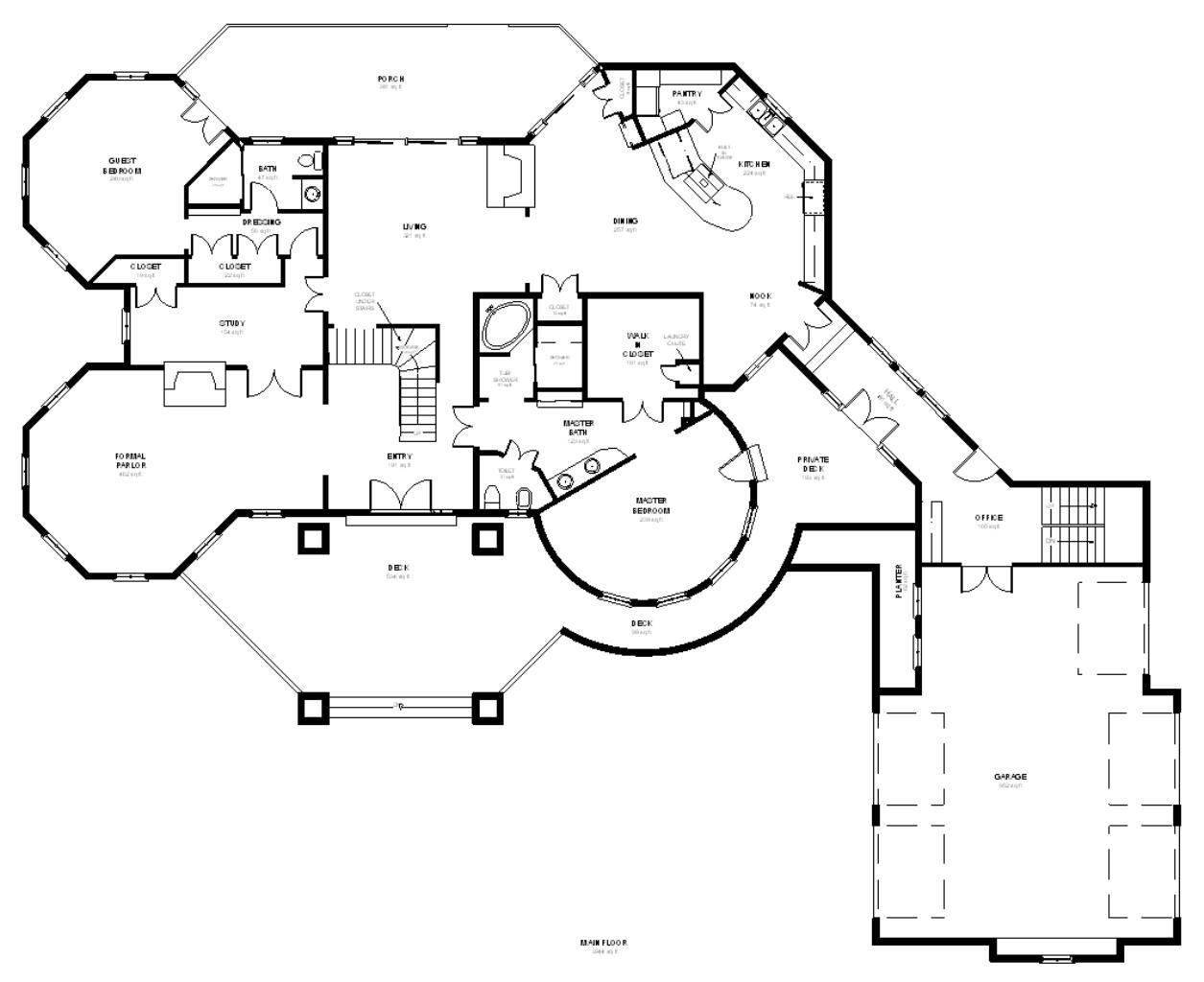 Octagon House Plans amazing octagon house floor plans 1h6x | mój wymarzony dom